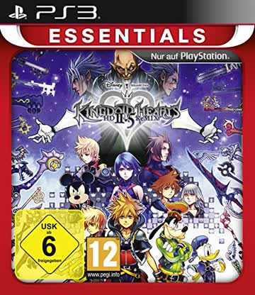 Square Enix Kingdom Hearts HD 2.5 ReMIX - Essentials Playstation® 3 USK 12 Rollenspiel