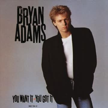 Bryan Adams - You Want It,You Got It