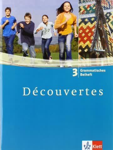 Découvertes / Grammatisches Beiheft - Band 3