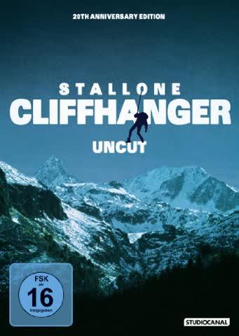 Cliffhanger (20th Anniversary Ed. / uncut) (DVD)
