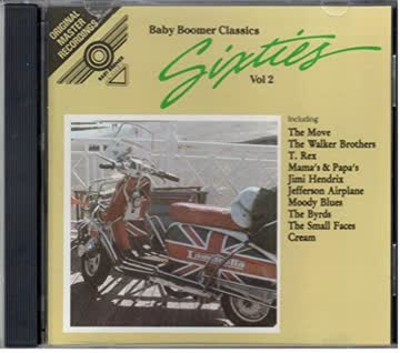 Baby Boomer Classics-Sixties 2 - Move, Small Faces, Walker Brothers, Fortunes, Cream, Blind Faith..