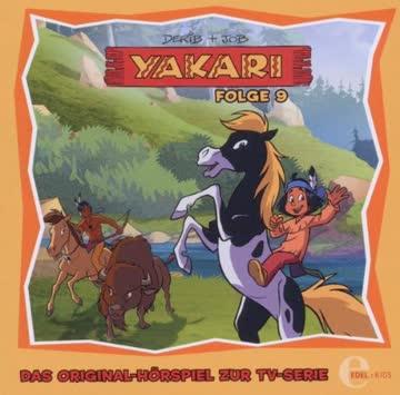 """Yakari Die Pferdediebe"""" Folge 9, Das Original-Hörspiel zur TV-Serie"""