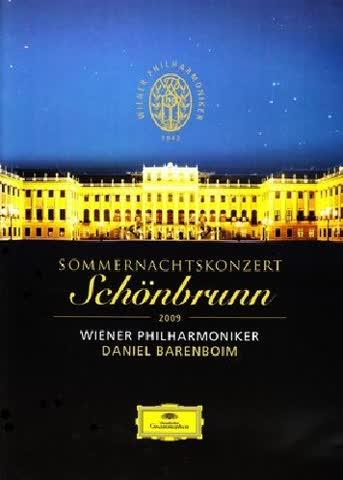 Wiener Philharmoniker - Sommernachtskonzert Schönbrunn 2009