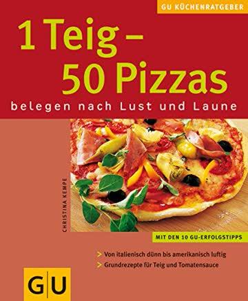 1 Teig - 50 Pizzas: Belegen nach Lust und Laune