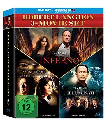 The Da Vinci Code - Sakrileg / Illuminati / Inferno (3er BD Set) [Blu-ray]