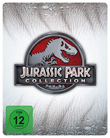 Jurassic Park Collection - Steelbook [Blu-ray] [Limited Edition]