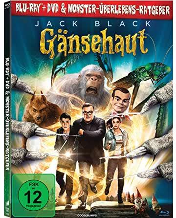 Gänsehaut: Digibook / DVD + Blu-ray