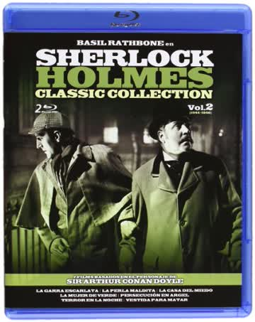Sherlock Holmes : Classic Collection - Vol. 2 (Blu-Ray)