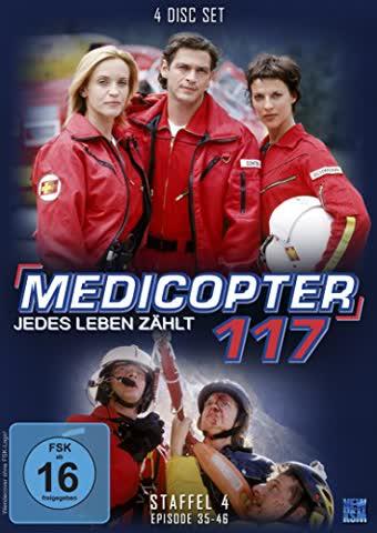 Medicopter 117 - Staffel 4: Folge 35-46 [4 DVDs]