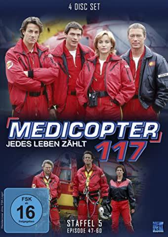 Medicopter 117 - Jedes Leben zählt - Season 5 (FSK 16 Jahre) DVD