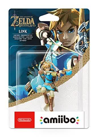 amiibo The Legend of Zelda Collection Link Bogenschütze (Breath of the Wild), Figur