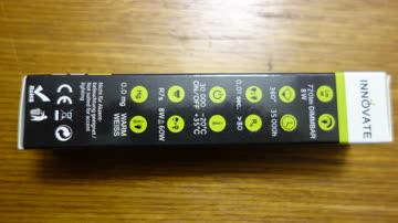 R7S LED Stablampe, 8 Watt, warmweiß, 118mm, dimmbar