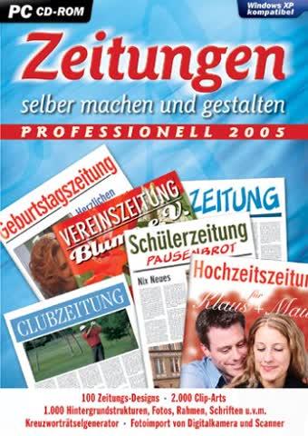 Zeitungen selber machen 2005