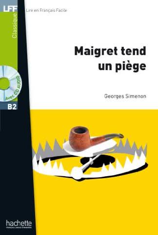 Maigret Tend Un Piege + CD Audio MP3 (Simenon) (Lff (Lire En Francais Facile))