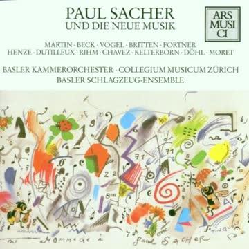 Various - Paul Sacher und die Neue Musik