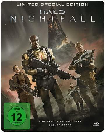 Halo: Nightfall Limited Special Edition (Steelbook)