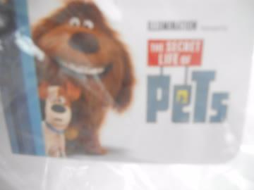 Stofftier aus dem Film Pets