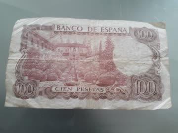 100 Pesetas Spanien