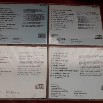 4 x CLASSIC ROCK CD's