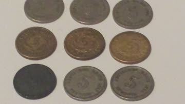 9 Deutsches Reich 5 Pfennig