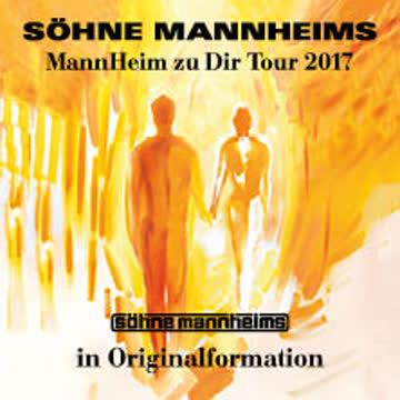 Söhne Mannheims, 10.05.2017, Zürich, 2 Stehplätze