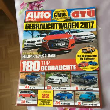 Autozeitung Nr. 9, Autobild Nr. 15, Grip Nr.3