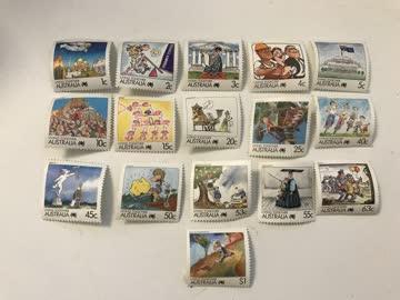 Briefmarken Australien (Serie Living together von 1988)