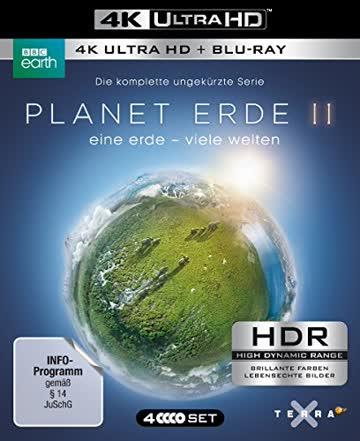 Planet Erde II: Eine Erde - viele Welten [2 4K Ultra HD + 2 Blu-rays]