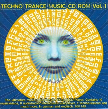 Quench, Mega 'Lo Mania, Scooter, Spacefrog, Steve Mason.. Math U Matix - Techno Trance Music CD Rom Vol 1