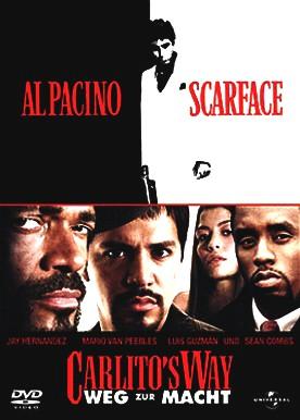 Carlito's Way - Weg zur Macht / Scarface [2 DVDs]
