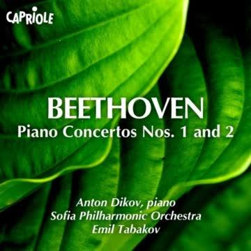 Anton Dikov - Beethoven - Klavierkonzerte 1 + 2