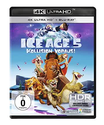 Ice Age - Kollision voraus! [4K Ultra HD + Blu-ray]