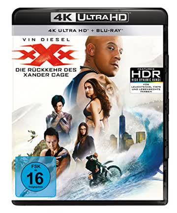 xXx - Die Rückkehr des Xander Cage (4K Ultra HD + Blu-ray)