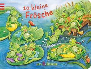 10 kleine Frösche