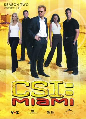CSI: Miami - Season 2.2 (3 DVDs) [Import allemand]