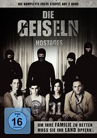 Die Geiseln - Hostages, die komplette erste Staffel [2 DVDs]