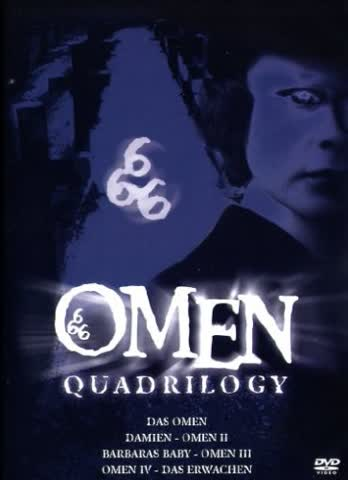 The Omen Quadrilogy [4 DVDs]