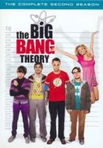 The Big Bang Theory Season 2 (4 DVDs)