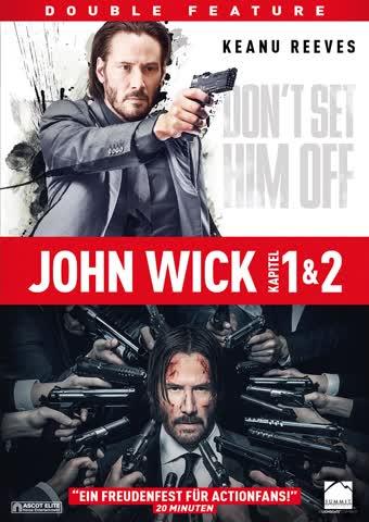John Wick 1 & 2 - (2 DVDs)