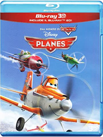 Planes (3D+2D) [3D Blu-ray] [IT Import]