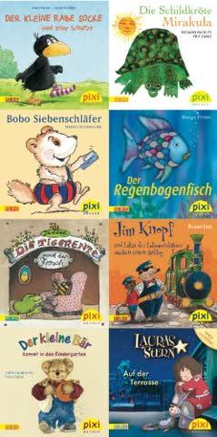 Pixi-Bücher: Pixi-Serie Nr. 178: Pixis Bilderbuch-Klassiker: 8 x 8 Stück