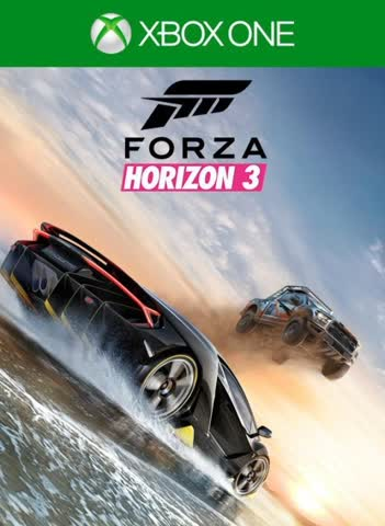 Microsoft forza horizon 3 xbox one standard edition (PS7-00018)