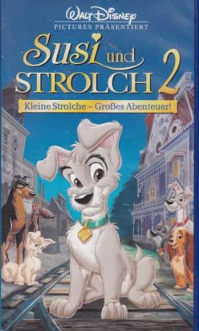 Susi und Strolch 2: Kleine Strolche - Großes Abenteuer! [VHS]