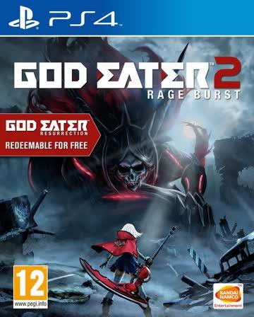 God Eater 2 Rage Burst (inklusive God Eater Resurrection)