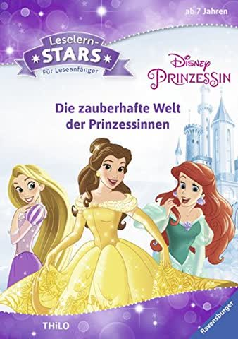 Leselernstars Disney Prinzessin: Die zauberhafte Welt der Prinzessinnen: Für Leseanfänger