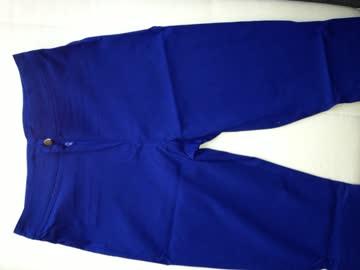 Damenhosen mit hohen Bund (Blau) M