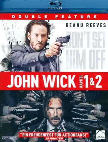 John Wick 1 & 2 - (2 Blu-rays)