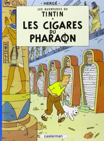 Les cigares du pharaon (Tintin)