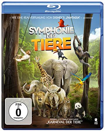 Symphonie der Tiere [Blu-ray]