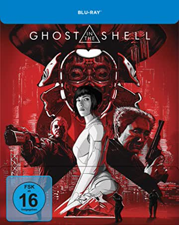 Ghost in the Shell Limited Steelbook-Edition [Blu-ray] [Limited Edition]